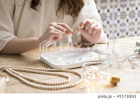 手作りアクセサリー 45578893