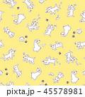可愛いイヌのパターン 45578981