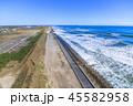 風景 九十九里浜 海の写真 45582958