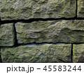 ゴツゴツの石の壁 45583244