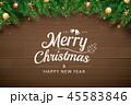 クリスマス あいさつ グリーティングのイラスト 45583846