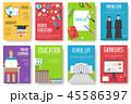 書籍 本 大学のイラスト 45586397
