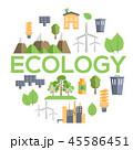 エコ 要素 環境のイラスト 45586451
