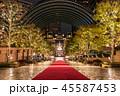 クリスマス ライトアップ 恵比寿ガーデンプレイスの写真 45587453