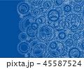 ギア ギヤ バックグラウンドのイラスト 45587524