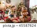 クリスマス ギフト プレゼントの写真 45587624