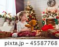 クリスマス ギフト プレゼントの写真 45587768