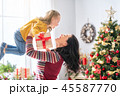 クリスマス おかあさん お母さんの写真 45587770