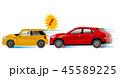 車 自動車 危険運転のイラスト 45589225