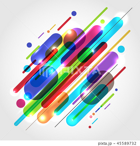 Abstract motion dynamic composition various color 45589732