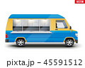 トラック 貨車 ベクトルのイラスト 45591512