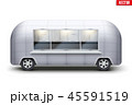 トラック 貨車 ベクトルのイラスト 45591519