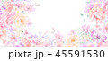 花 フラワー お花のイラスト 45591530