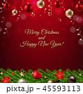 ポインセチア 猩々木 ショウジョウボクのイラスト 45593113