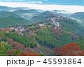 吉野山 紅葉 秋の写真 45593864