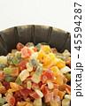 ドライフルーツ 多種類 フルーツの写真 45594287