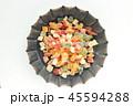 ドライフルーツ 多種類 フルーツの写真 45594288