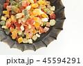 ドライフルーツ 多種類 フルーツの写真 45594291