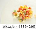 ドライフルーツ 多種類 フルーツの写真 45594295