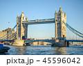 橋 ロンドン 夕方の写真 45596042