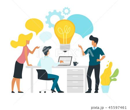 Problem solving concept business 45597461