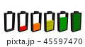 バッテリー 電池 アイコンのイラスト 45597470