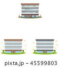 マンション 建物 リノベーションのイラスト 45599803