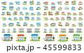 セット素材 住宅関連 45599833
