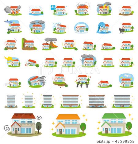 セット素材 住宅関連 45599858