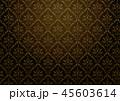 ダマスク柄 柄 クラシカルのイラスト 45603614