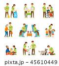 ボランティア グループ 集団のイラスト 45610449