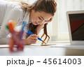 女性 ビジネスウーマン OLの写真 45614003
