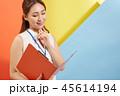 女性 若い ビジネスウーマンの写真 45614194