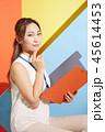 女性 若い女性 アジア人の写真 45614453