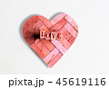 love letter on wood block 45619116