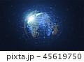 テクノロジー ネットワーク 通信のイラスト 45619750