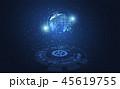 テクノロジー ネットワーク 通信のイラスト 45619755