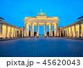 The Brandenburg Gate monument in Berlin, Germany 45620043