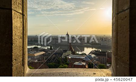 Budapest cityscape skyline in Hungary 45620047
