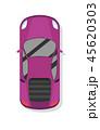 車 自動車 ファミリーカーのイラスト 45620303