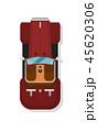 車 自動車 ラグジュアリーのイラスト 45620306