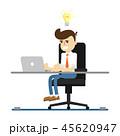 アイディア ビジネスマン 実業家のイラスト 45620947