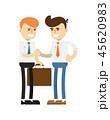 ビジネス 職業 ミーティングのイラスト 45620983
