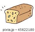 ハーブ入りパウンドケーキ イラスト 45622180