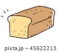 パウンドケーキ イラスト 45622213