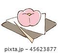 和菓子 お菓子 デザートのイラスト 45623877