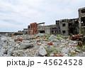 軍艦島 端島 廃墟の写真 45624528
