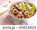 赤飯 ササゲの赤飯 和食の写真 45624824