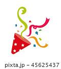 パーティ―クラッカー イラスト 45625437