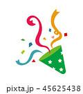 パーティ―クラッカー イラスト 45625438